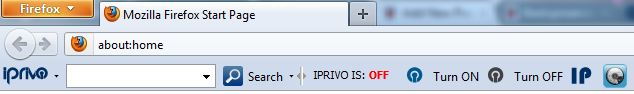 iPrivo VPN Toolbar 1