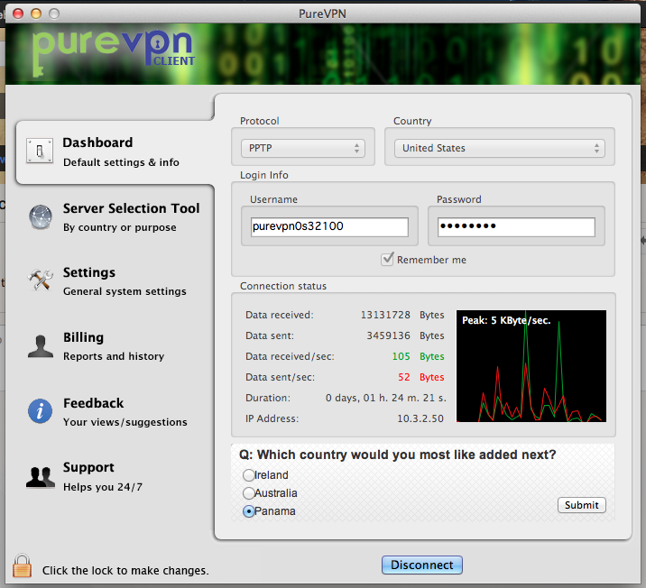 PureVPN Mac VPN
