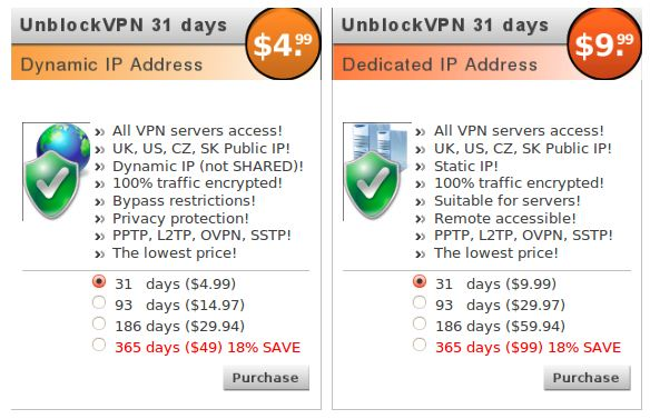 03-Pricing Plans (UnblockVPN-BVS)