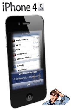 VPN iPhone 4S