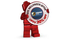 StrongVPN Halloween Offer