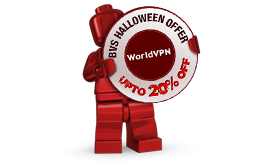 WorldVPN Halloween Offer