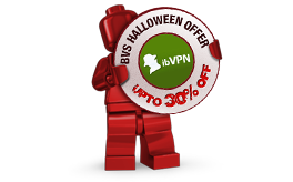 ibVPN Halloween Offer
