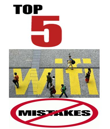 Top 5 Stupid Mistakes That Comprise Wi-Fi Security