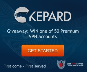 Kepard 50 Premium VPN Accounts