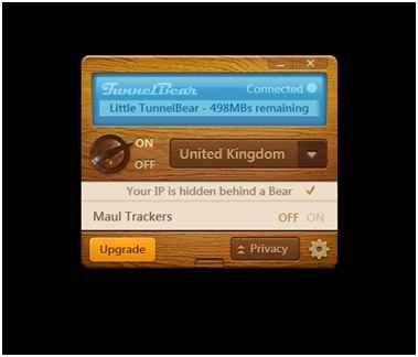 tunnelbear desktop app