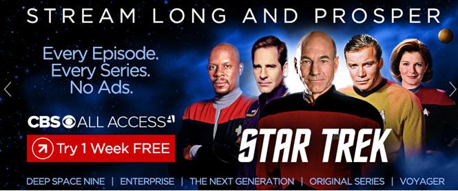 How to watch Start Trek CBS