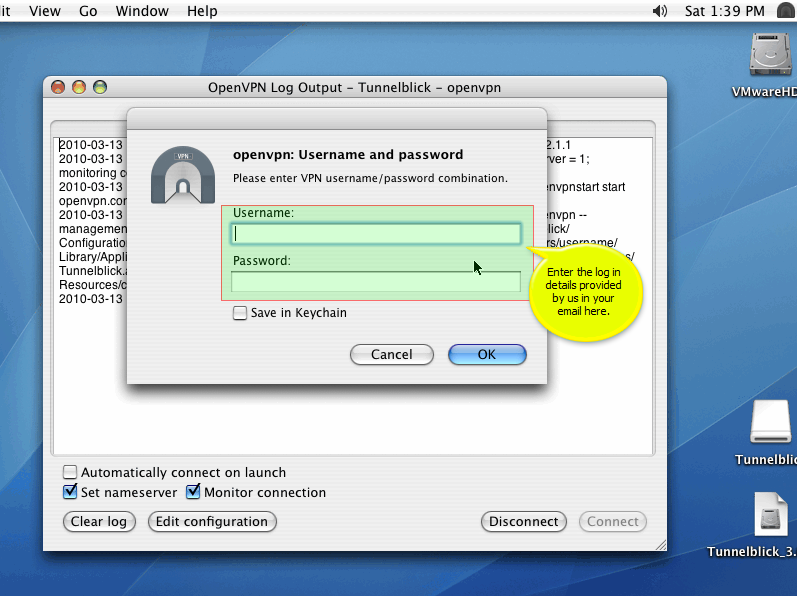 VPN Setup Mac OS X